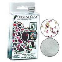 Crystal Clay - Silver - 50 gramme pack