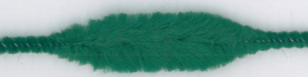 Chenille Bump (15 mm x 4 Bumps) - 30 mm long - Green (each)
