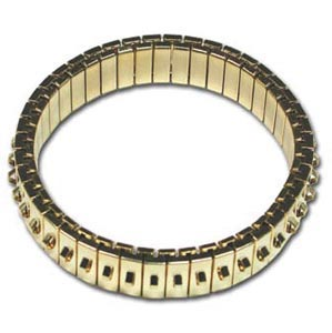 Bracelet Forms (for Beading) - Cha-Cha Bracelet - approx. 47 mm ID & 55 mm OD - One Row of Loops - G