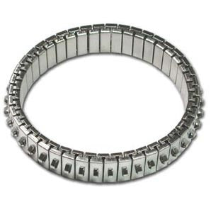 Bracelet Forms (for Beading) - Cha-Cha Bracelet - approx. 47 mm ID & 55 mm OD - One Row of Loops - N