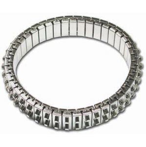 Bracelet Forms (for Beading) - Cha-Cha Bracelet - approx. 47 mm ID & 55 mm OD - Two Row of Loops - N