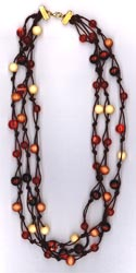 Knotted Necklace Kit - Brown