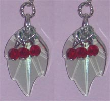 Swarovski Holly Earrings (Sterling Silver)