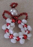 Starflake Pony Bead Angel (makes 5 -Red)