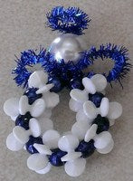 Starflake Pony Bead Angel (makes 5 -Blue)
