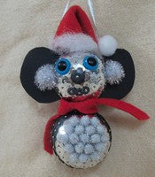 Sequin Christmas Koala