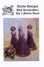 Bead Knitted Skirt - The 3 Maiden Aunts