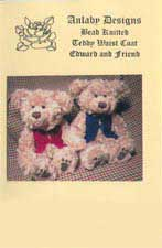 Bead Knitted or Other - Teddy Waist Coat Edward and Firend