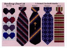 Chart 38 - Ties - Formal & Bow-Ties -  by Ellen Hall
