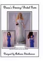 Diana's Evening / Bridal Gown (Bead Knitted Pattern)