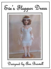 Eve's Flapper Dress (Bead Knitted Pattern)