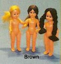 STEN - Doll - 8 cm Doll – Brown Hair