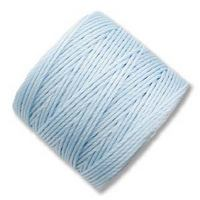 S-Lon Bead Cord - Sky Blue - approx. 0.5 mm thickness - 77 yd / 70m SPOOL