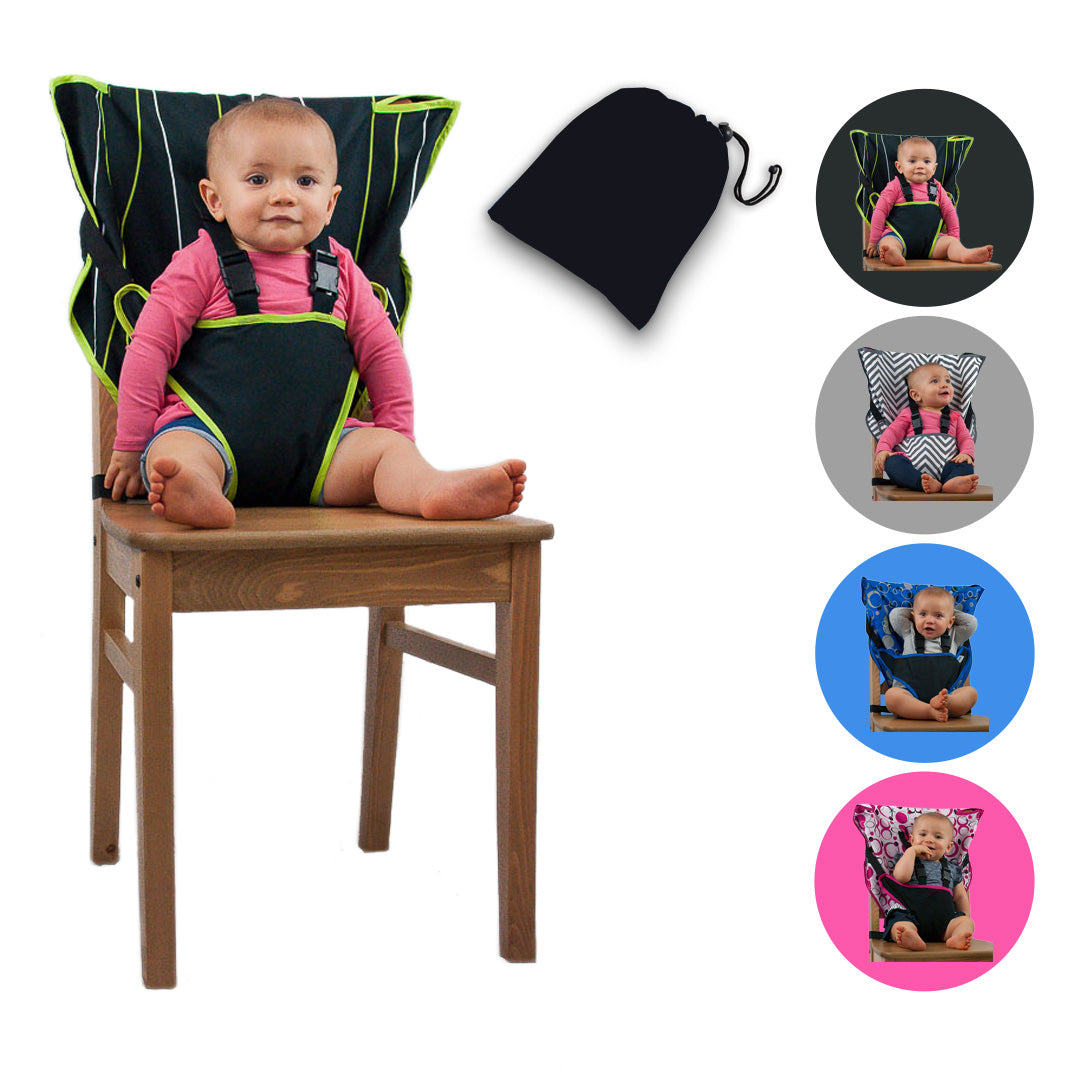 Baby Highchair Seat Pad Toddler Soft Comfortable Seat Cushion Chair Increasing Kids Portable Adjustable Highchair Seat Pads Pink