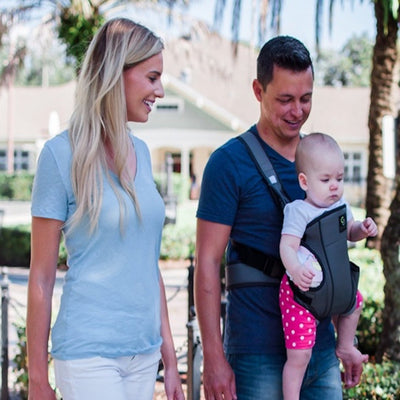 Cozy 4-in-1 Convertible Baby Carrier (Grey)