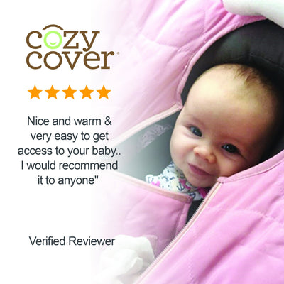 Cozy Cover Quilt Infant Car Seat Cover