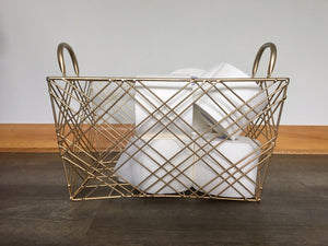 Bamboo Toilet Tissue in Basket