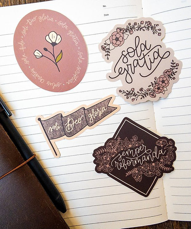 Floral Reformation Sticker Pack