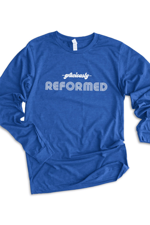 """Graciously Reformed"" Long Sleeve Tee"