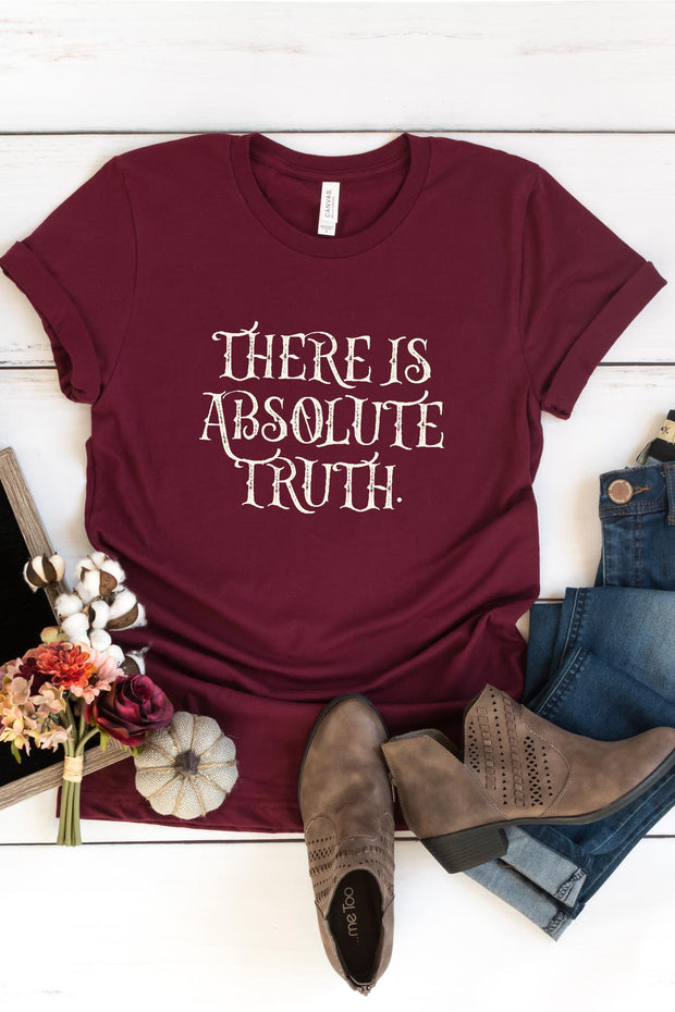 """There is Absolute Truth"" Tee"