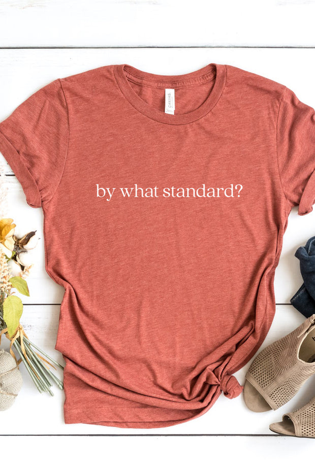 """By What Standard?"" Tee"
