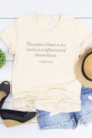 The Secret is Christ/Elisabeth Elliott Tee
