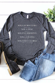 Five Solas Long Sleeve Tee