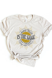 """Jesus Christ is the Same"" Hand-lettered 