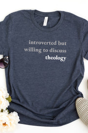 """Introverted But..."" Tee (Unisex)"