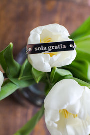 """Sola Gratia"" Bar Necklace"