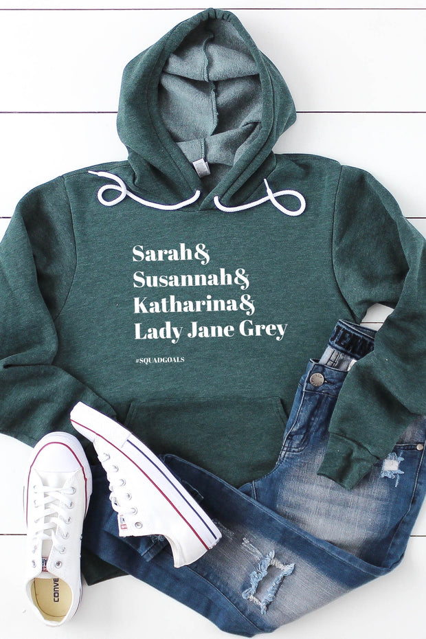 Theologian #Squadgoals, Women of Faith Hoodie