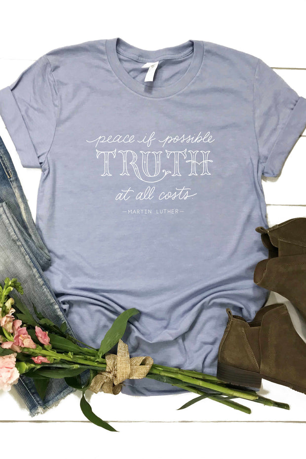 """Truth At All Costs"" Tee"