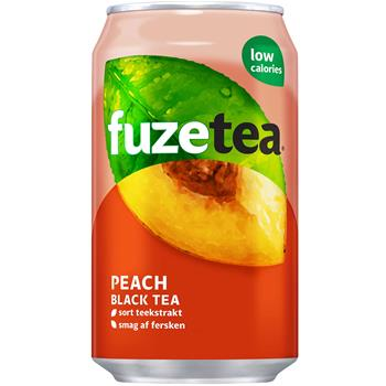 Fuze Tea Peach Black Tea 24st.