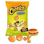 Cheetos Steen, Papier, Schaar Hamburger 145g