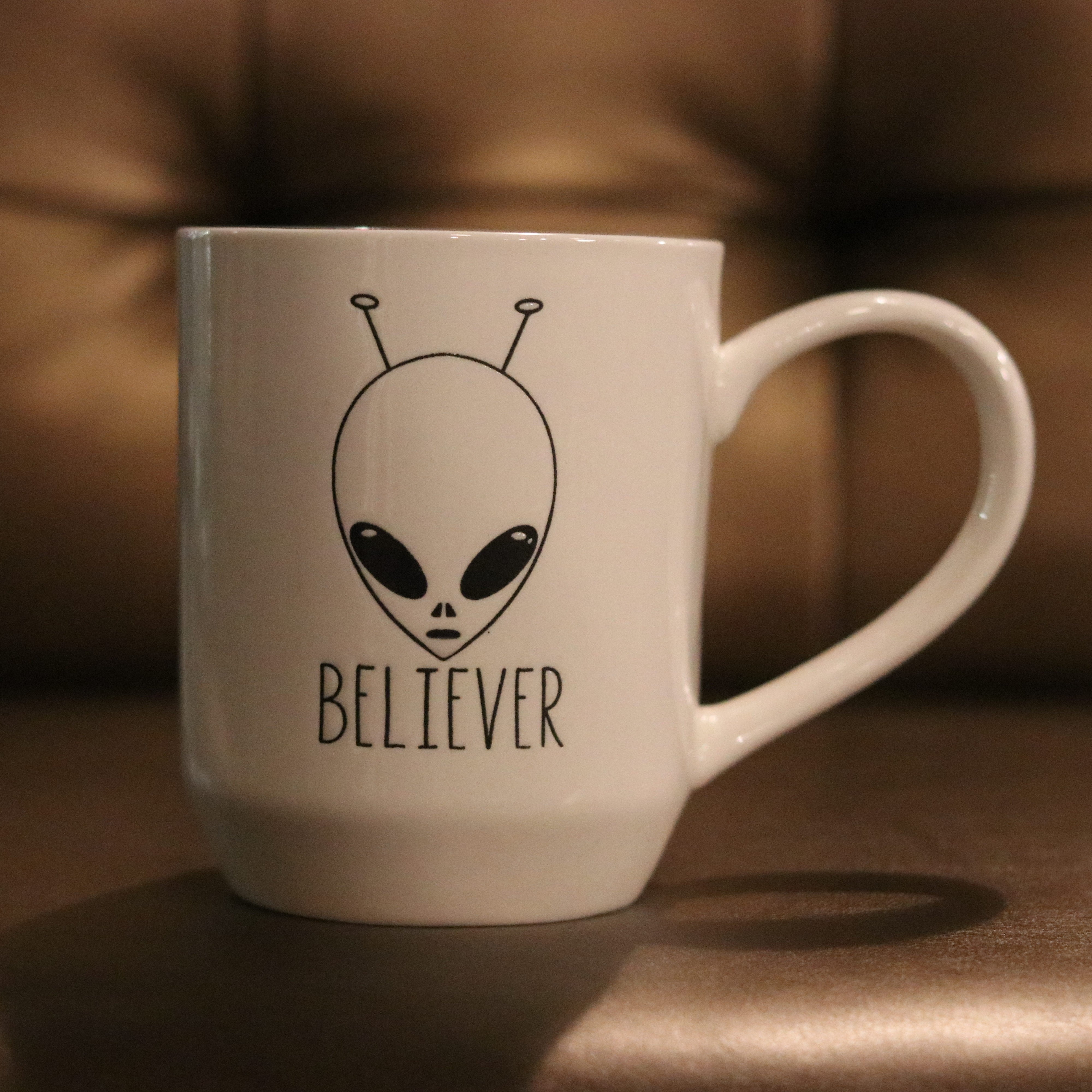 Alien Mug by 5 Lines Pottery