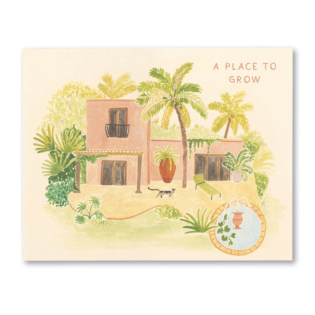 A Place to Grow Greeting Card
