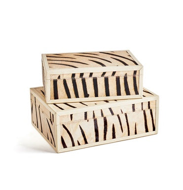 Zebra Decorative Box - Large