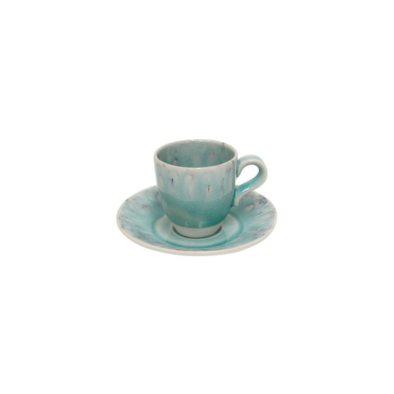 Madeira Coffee Cup & Saucer - Blue