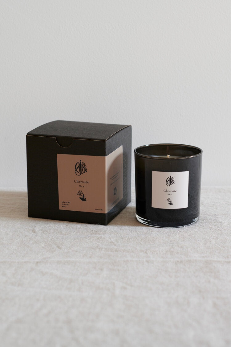 Cheroute No. 4 Candle