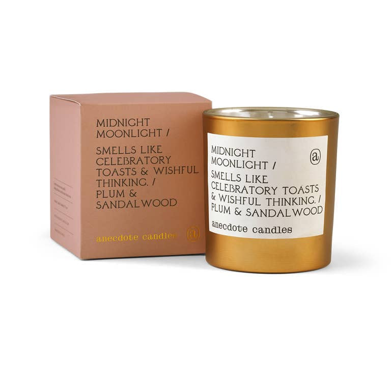 Midnight Moonlight Gold Tumbler Candle (Limited Edition)