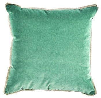 "Velvet Pool Pillow with Insert - 22"" x 22"""