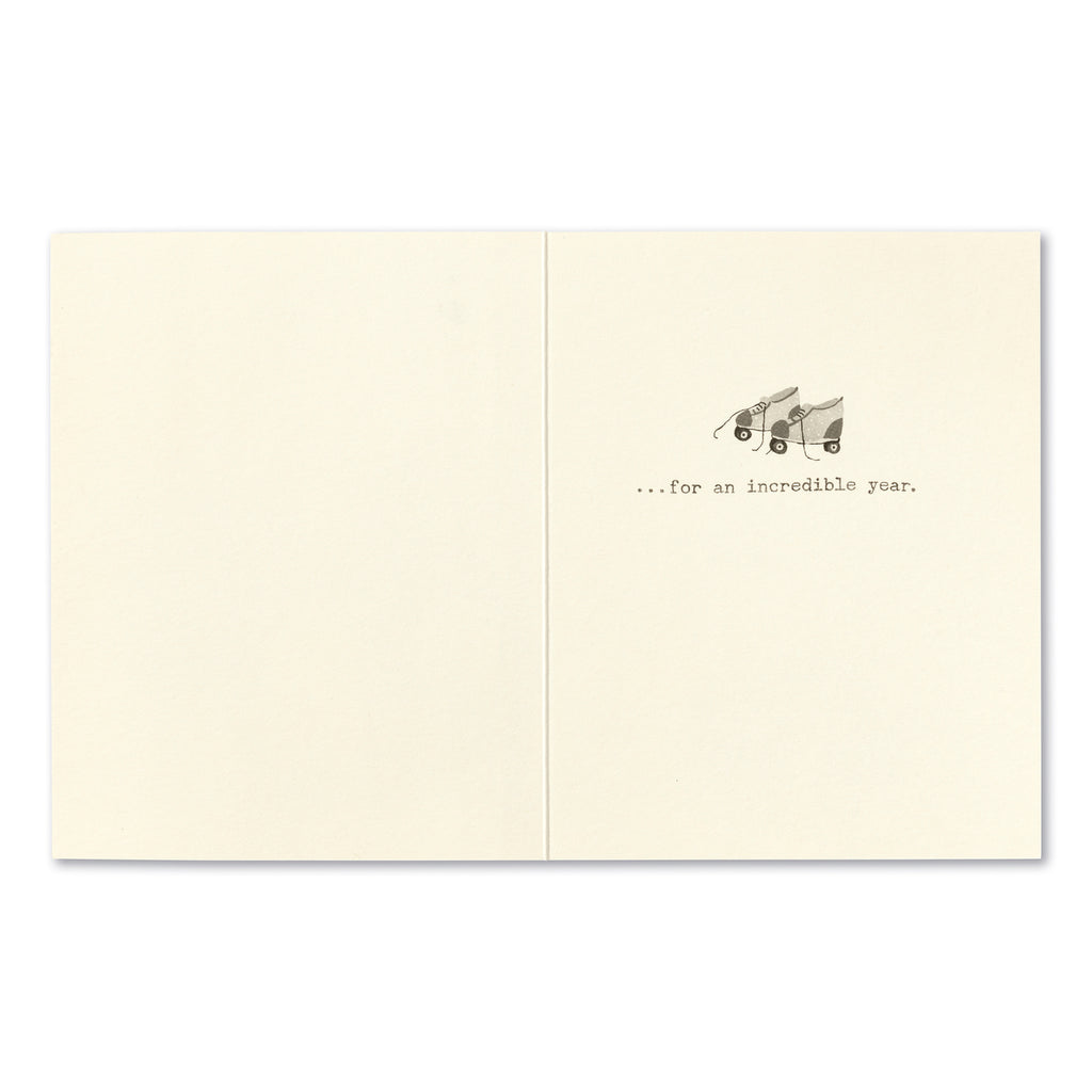 Three-hundred and Sixty-Five Wishes Greeting Card