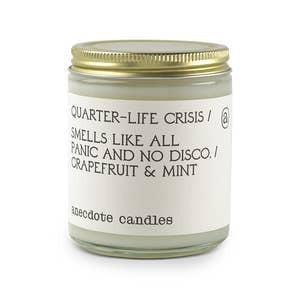 Quarter Life Crisis Candle (Grapefruit & Mint) - Standard Jar