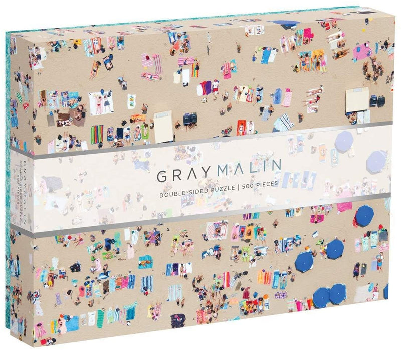 Gray Malin 2 Sided Jigsaw Puzzle - Beach