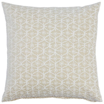 "Amma Decorative Pillow with Insert - 20"" x 20"""