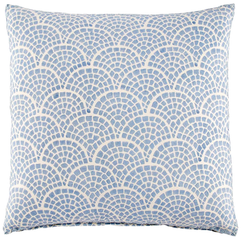 "Laal Light Indigo Pillow with Insert - 20"" x 20"""