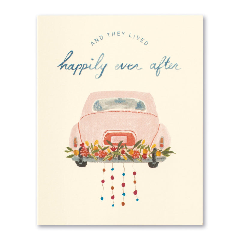 And Then They Lived Happily Ever After Greeting Card