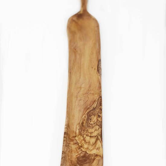 Olive Wood Rectangle Narrow Tapas Dish
