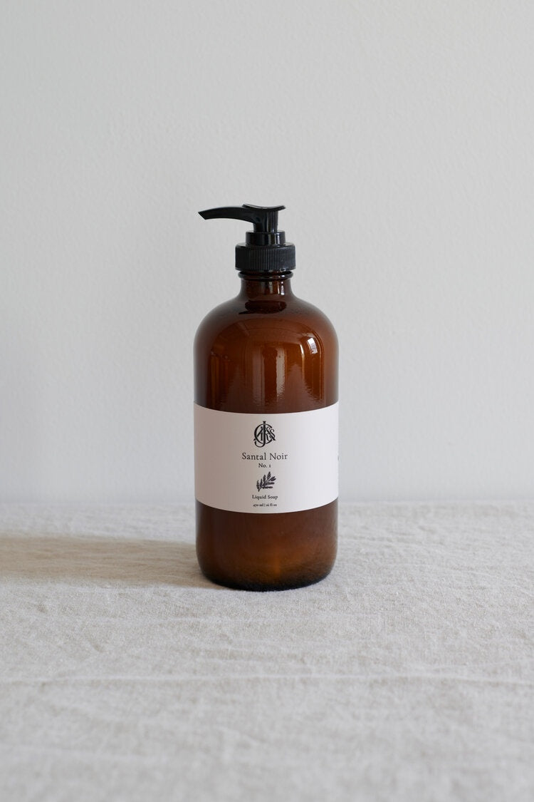 Santal Noir No. 1 Liquid Soap