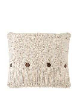 Micah Knitted Sham - Natural